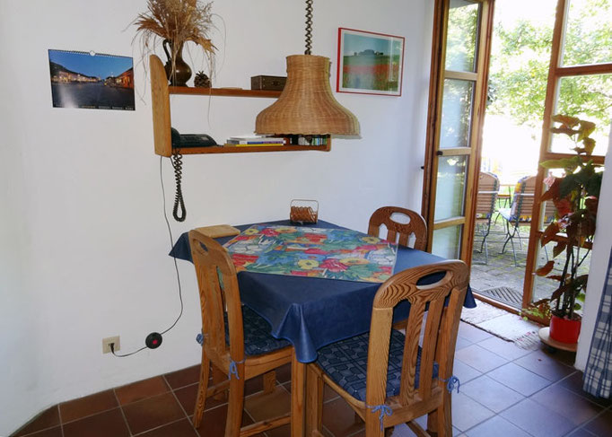 Wohnküche Ferienwohnung Meir