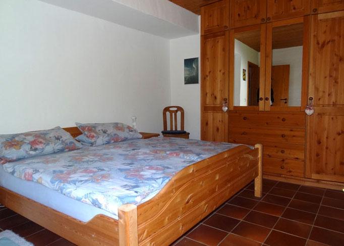 Schlafzimmer Ferienwohnung Meir