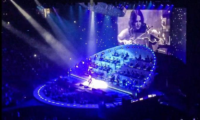 Live mit Michael Bublé