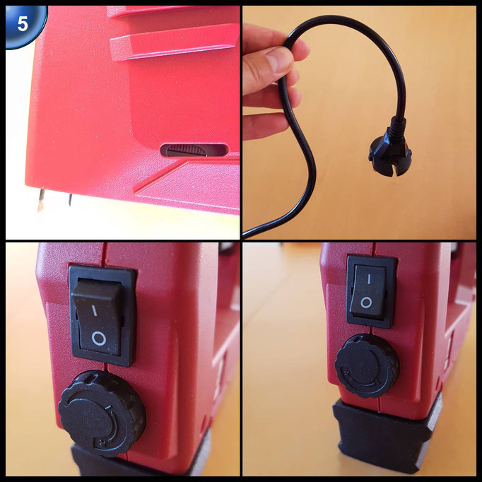 Einhell Elektrotacker TC-EN 20 E (20 Schüsse pro Minute, Klammerlänge 6 - 14 mm, Nagellänge 14 mm, Inkl. 1000 Klammern und 500 Nägel)