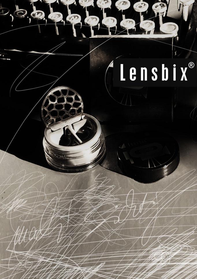 Lensbix mood - Geschenkidee mit Charakter für Menschen mit Charakter! / Kontaktlinsenbehälter / Kontaktlinsenbox / Behälter für Kontaktlinsenaufbewahrung  in Geschenkverpackung
