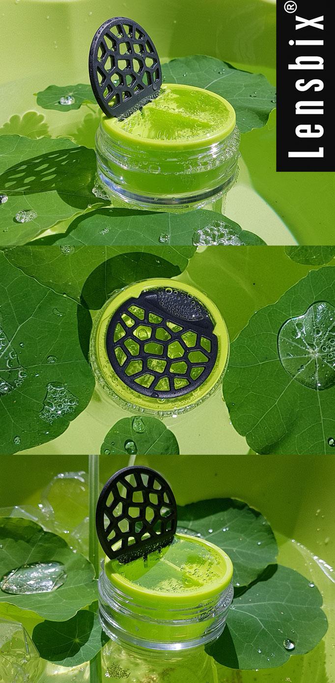 Lensbix mood - Das Natur Geschenk für Kontaktlinsenträger/ Kontaktlinsenbehälter / Kontaktlinsenbox /Behälter für Kontaktlinsenaufbewahrung  in Geschenkver