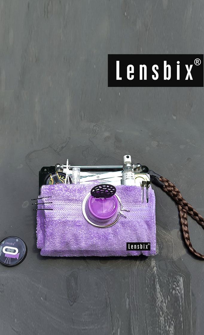 Lensbix  zweimal hinsehen - blitzscharf! / Kontaktlinsenbehälter / Kontaktlinsenbox / #Box für Kontaktlinsenaufbewahrung
