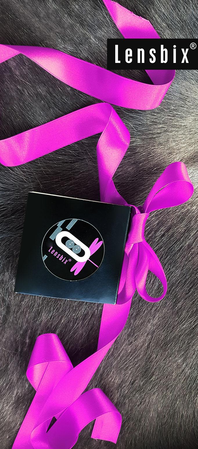 Wildes  Pink Lensbix Kontaktlinsenbehälter Aktuelles  Weihnachten