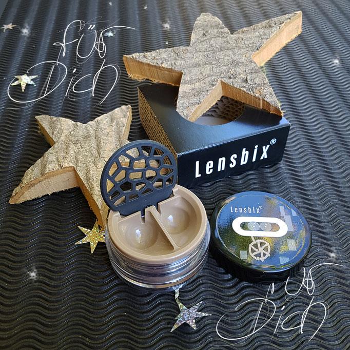 Sternensegen Lensbix Kontaktlinsenbehälter Aktuell  Weihnachten