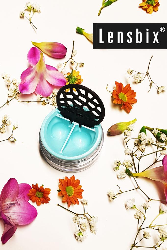 Lensbix Frühling Kontaktlinsenbehälter