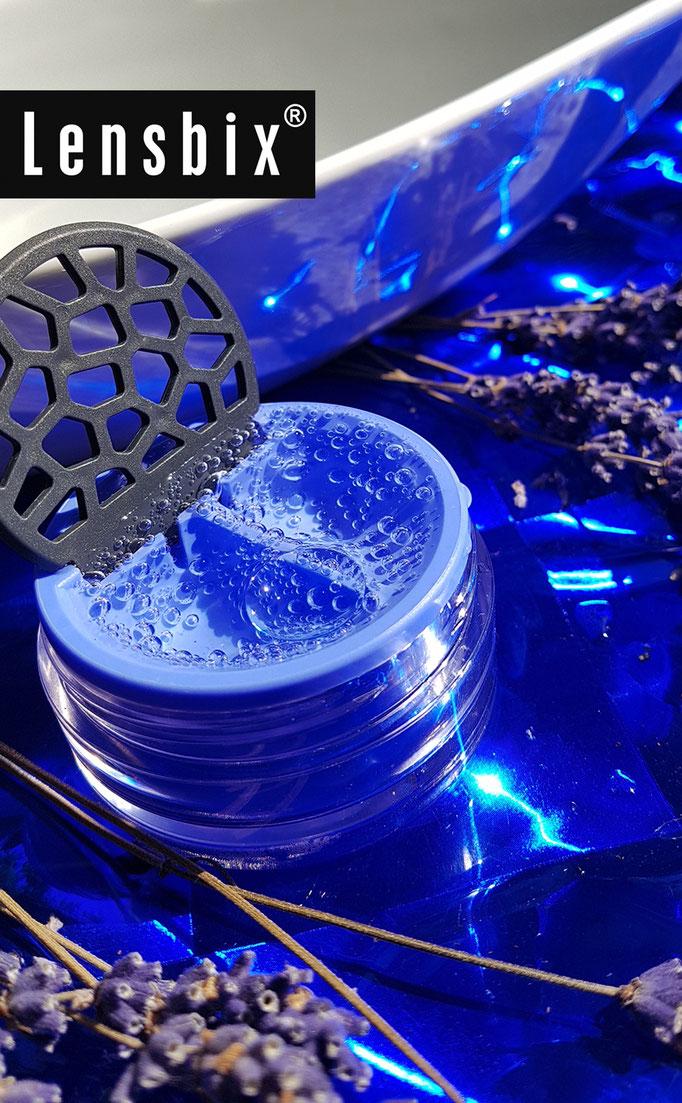 Lensbix  mood - Geschenkidee mega modern! / #Kontaktlinsenbehälter / Kontaktlinsenbox /  Behälter für Kontaktlinsenaufbewahrung  in Geschenkverpackung