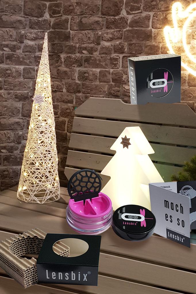 unterm Baum - Aktuelles -Weihnachten - Lensbix - Kontaktlinsenbehälter