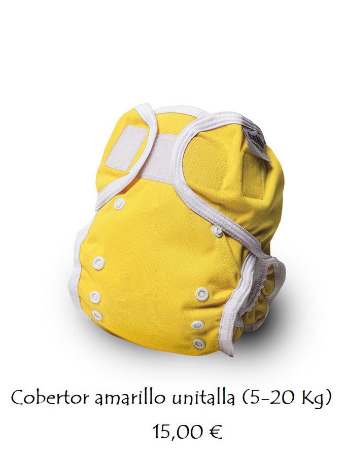 Cobertor liso amarillo AGOTADO