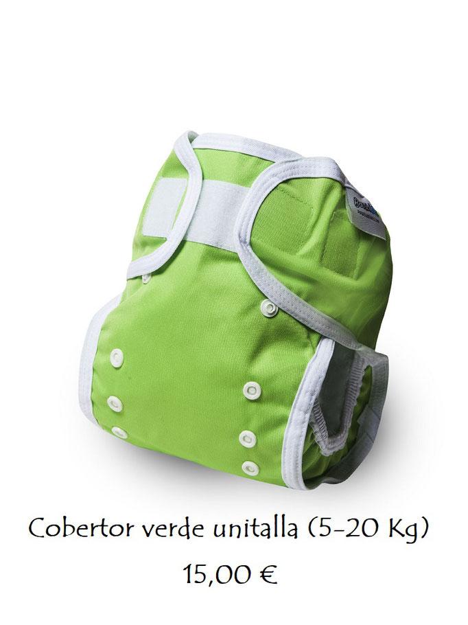 Cobertor liso verde