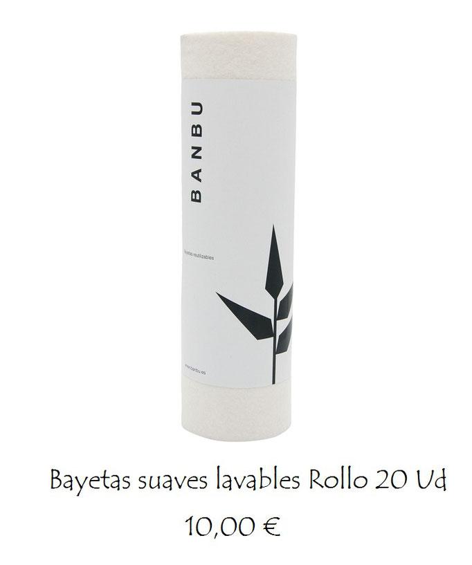 Rollo bayetas reutilizables 20 Ud