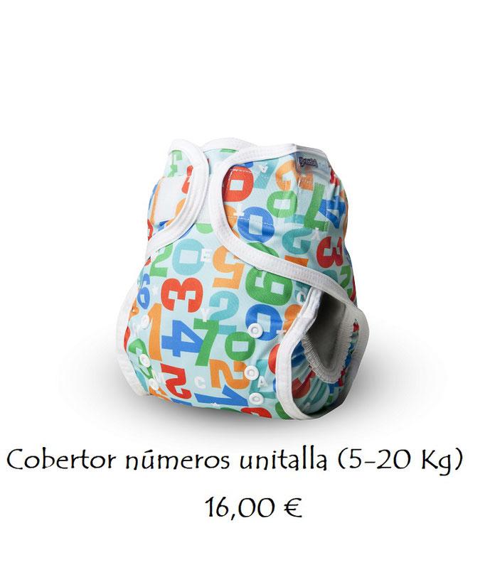 Cobertor estampado números