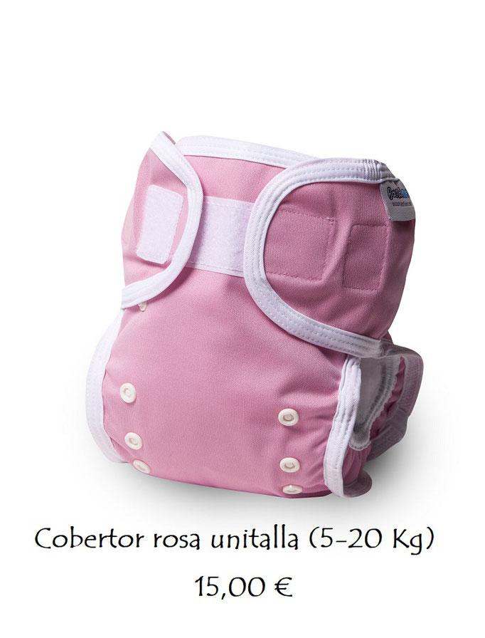 Cobertor liso rosa