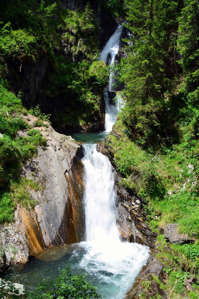 Lappach Klamm N°5 / Zösen Wasserfall