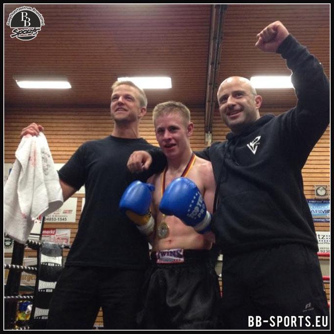 Jannes 15 jahre erster Kampf 2015