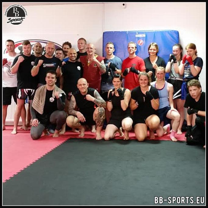 Muay Thai Workshop mit Wolfgang Gier
