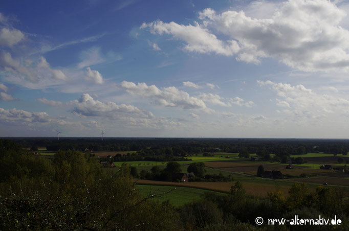 Bei schönem Wetter ist auch die Aussicht auf dem Tecklenburger Bergpfad noch einmal so schön
