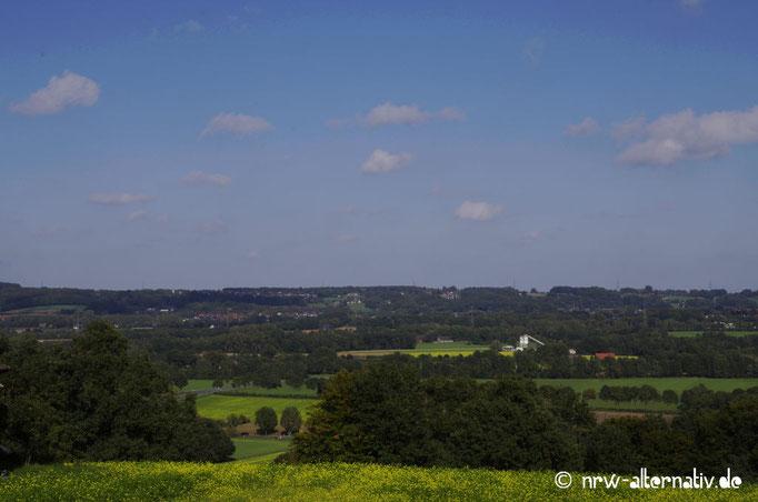 Gute Sicht bis ins flache Münsterland