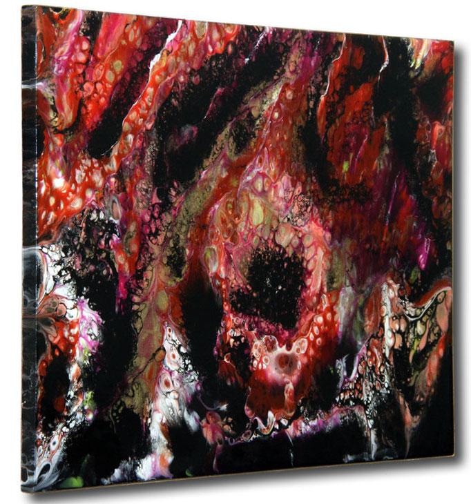 """Lava"" Resin Painting by Michael Stowasser"