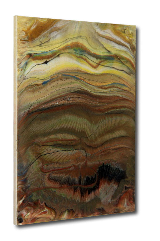 """""""African Dreams""""  Resin Painting by Michael Stowasser"""