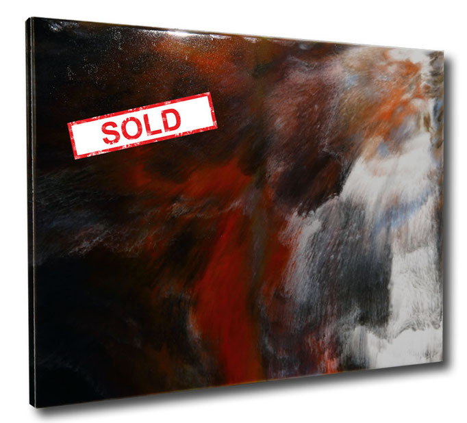 """Sandstorm"" Resin Painting by Michael Stowasser"
