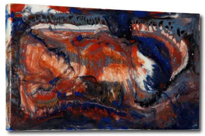 """""""Hidden Idea"""" Resin Painting by Michael Stowasser"""