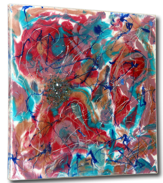 """Glitter"" Resin Painting by Michael Stowasser"