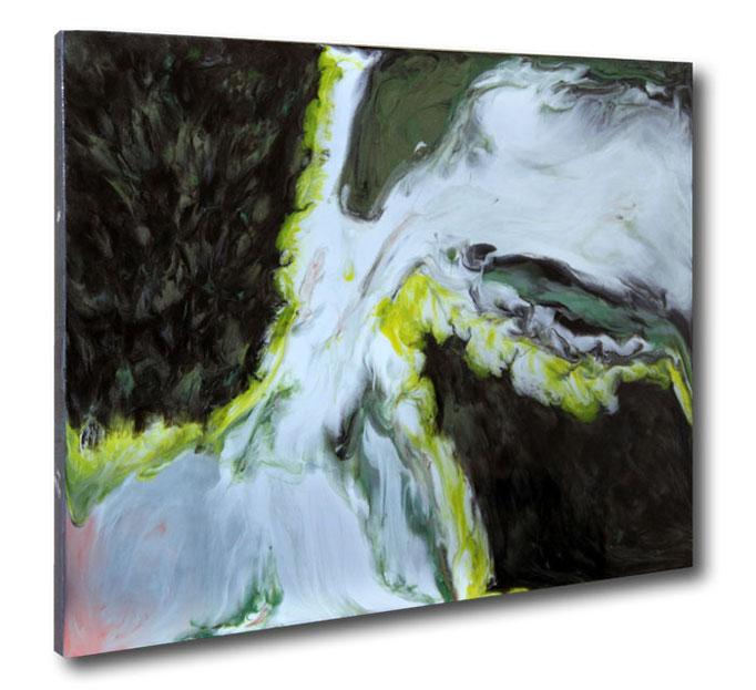 """ohne Titel"" Resin Painting by Michael Stowasser"