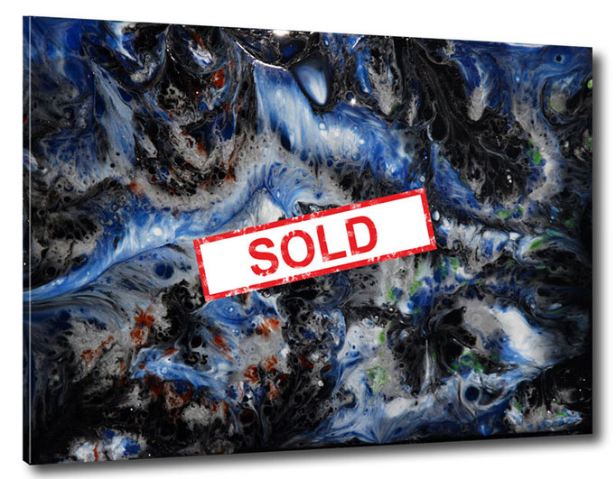"""""""The Space""""  Resin Painting by Michael Stowasser"""