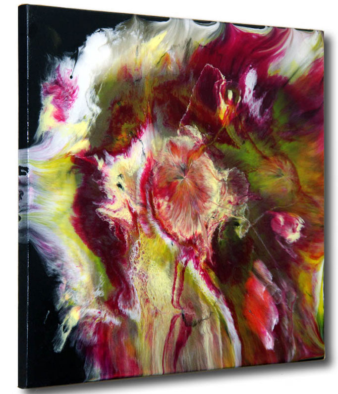 """""""Color Explosion"""" Resin Painting by Michael Stowasser"""