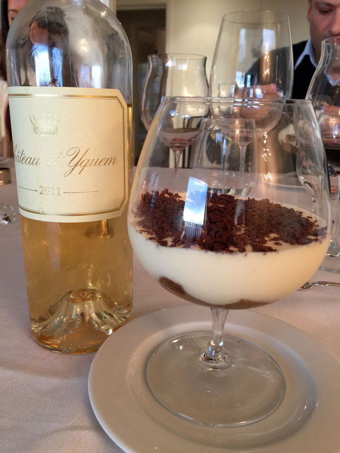 Tiramisu with Chateau d'Yquem by ZsL