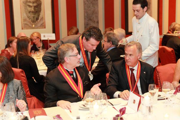 Claude Ponsot with Zsolt E. Lavotha