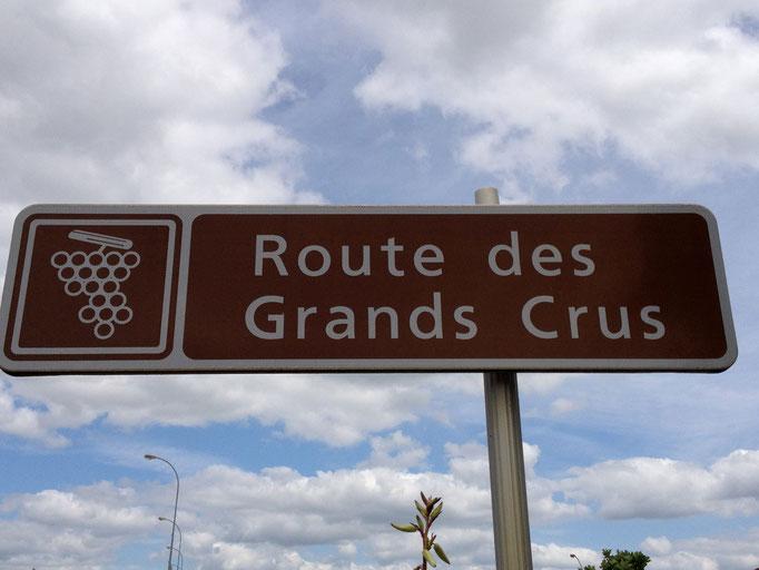 Route des Grand Crus in Burgundy