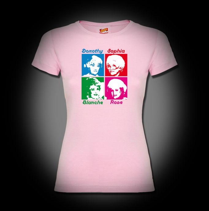 Las-Chicas-de-oro--Chema-Lajarinez-El-Museo-de-las-camisetas