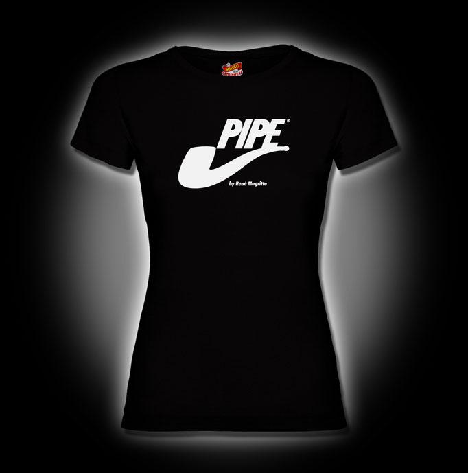 Pipe-Magritte-Chema-Lajarinez-El-Museo-de-las-camisetas