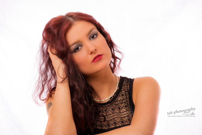 Studioshooting mit unserem Model Jana, November 2015
