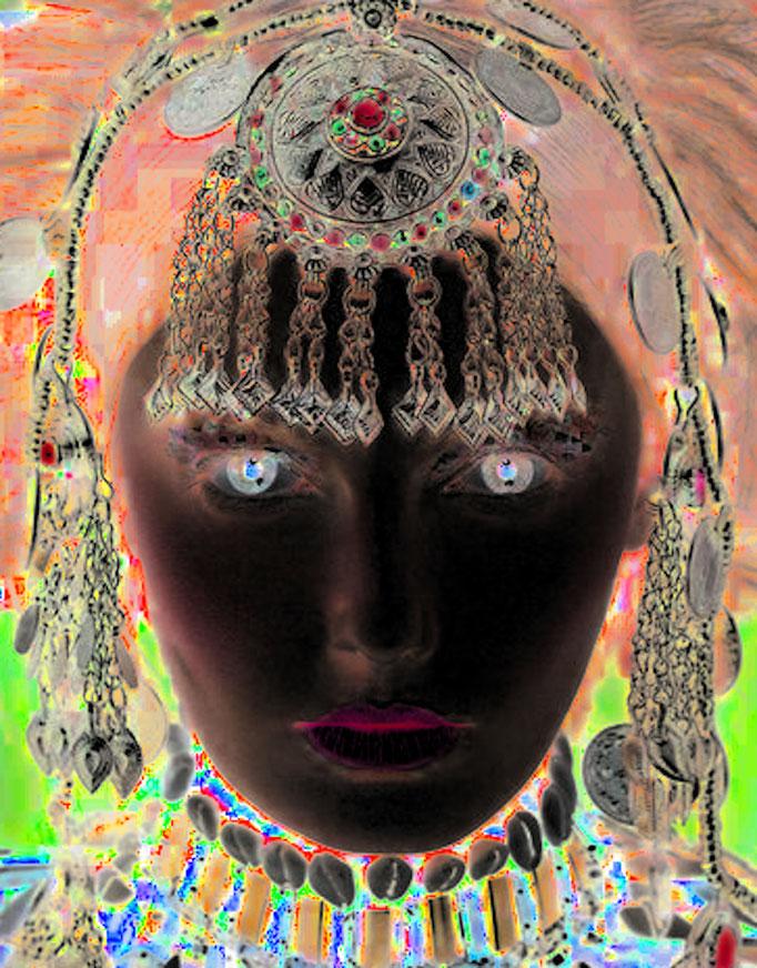 Das Floß der Medusa, Fotocollage 150x150 cm, 2020 © Christian Benz