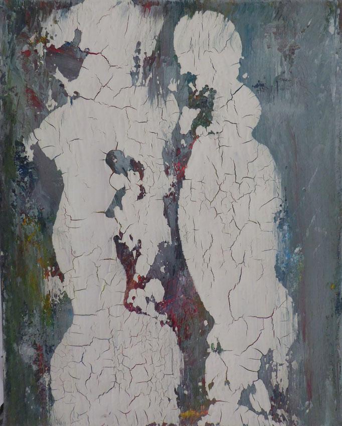 Die Weisen aus dem Morgenland, 2017. Öl und Acryl auf Leinwand, 20x30cm © Christian Benz
