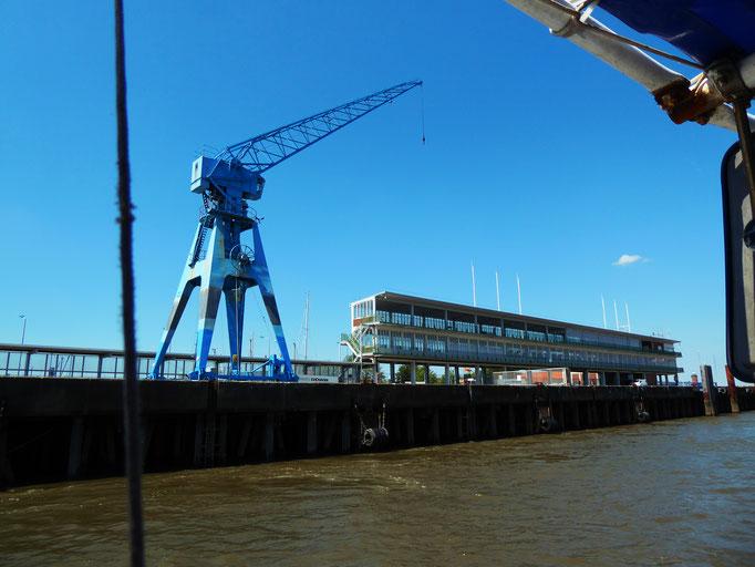 Cuxhaven Amerikahafen, 2020. Fotoprint, limitierte Auflage von fünf Fotos, 30x40 cm © Christian Benz