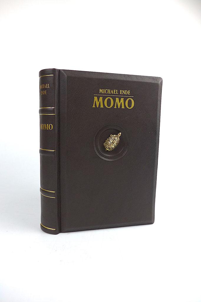 Momo - Ganzledereinband - Kinderbuch von Michael Ende