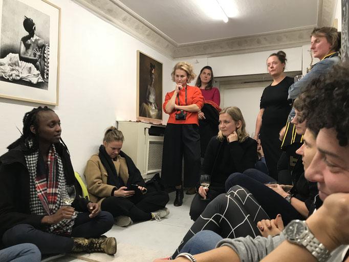 SALOON with Moira Bushkimani, 2019