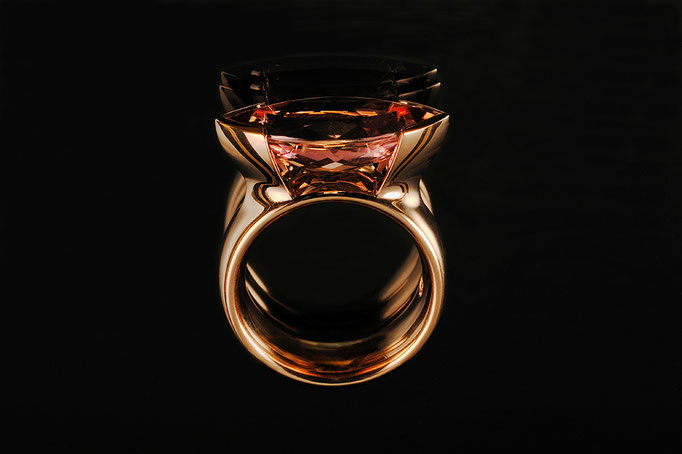 Produktnummer 0852 - 585/- Rosegold, Turmalin