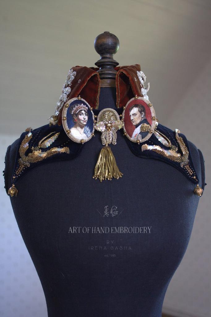 """Collar """"Bonaparte&Josephine""""/June'16"""