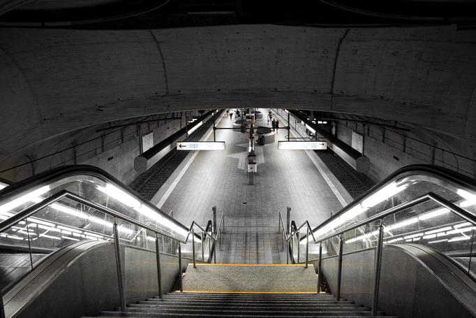 U-Bahnstation Alt Oper eingesandt von Tobias Rehbein /Hanau