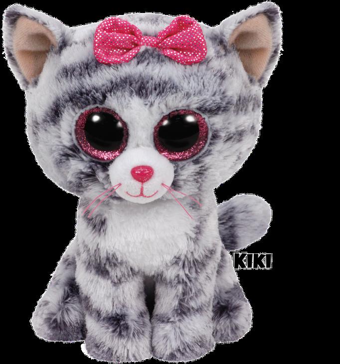 "Kiki hat am 16. August Geburtstag. ""My friends all call me Kitty Kitty / because they say I'm so pretty pretty!"""
