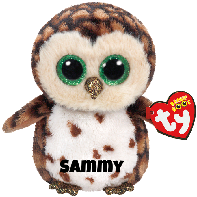"""Sammy is op 12 juni jarig. """"I live in the meadow, way up in a tree / I hoot all night but you can't see me!"""""""