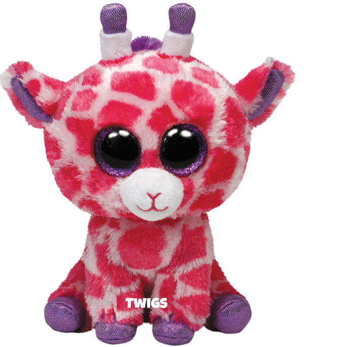 """Twigs hat am 4. September Geburtstag. """"I am friendly, tall and sweet / Eating leaves my favorite treat."""""""