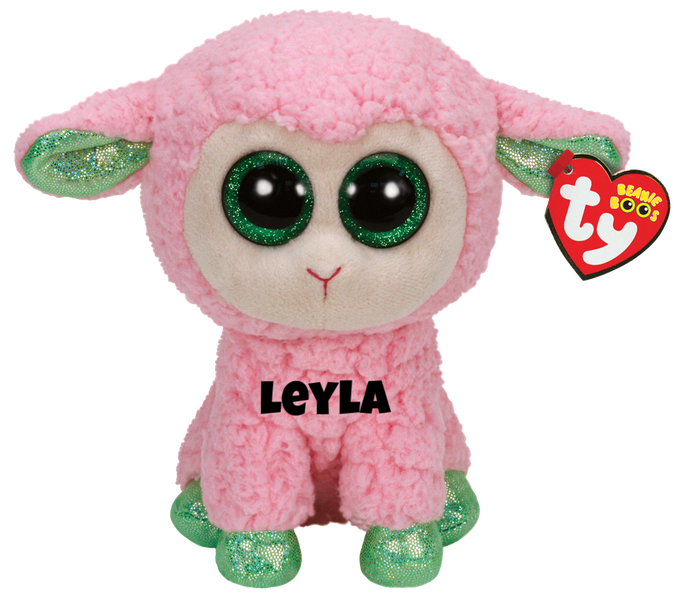 "Leyla is op 18 februari jarig. ""One more reason for you to keep / In 2015 it's the year of the sheep"""