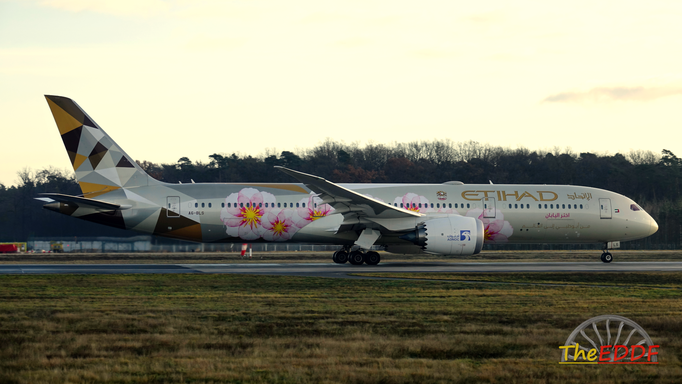 Etihad Airways Boeing 787-9 A6-BLS (ADNOC Choose Japan Livery)