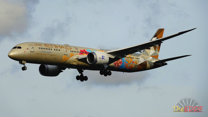 Etihad Airways Boeing 787-9 A6-BLJ (ADNOC Choose Thailand Livery)